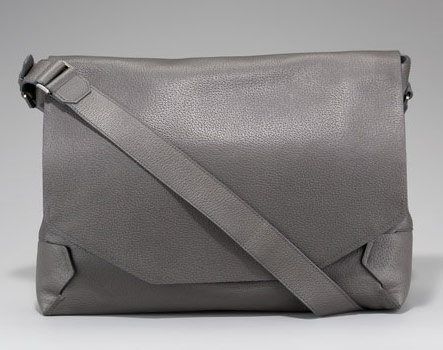 Lanvin-Grained-Leather-Messenger-Bag
