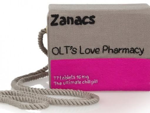 Olympia Le-Tan Pill Box Zanacs Clutch