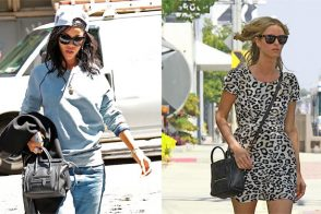 Who Carried It Better? Rihanna and Nicky Hilton with Celine