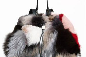 The Row's patchwork fur backpack will cost $16,900