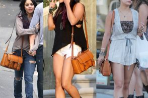 Just Can't Get Enough: Vanessa Hudgens and her MICHAEL Michael Kors Satchel