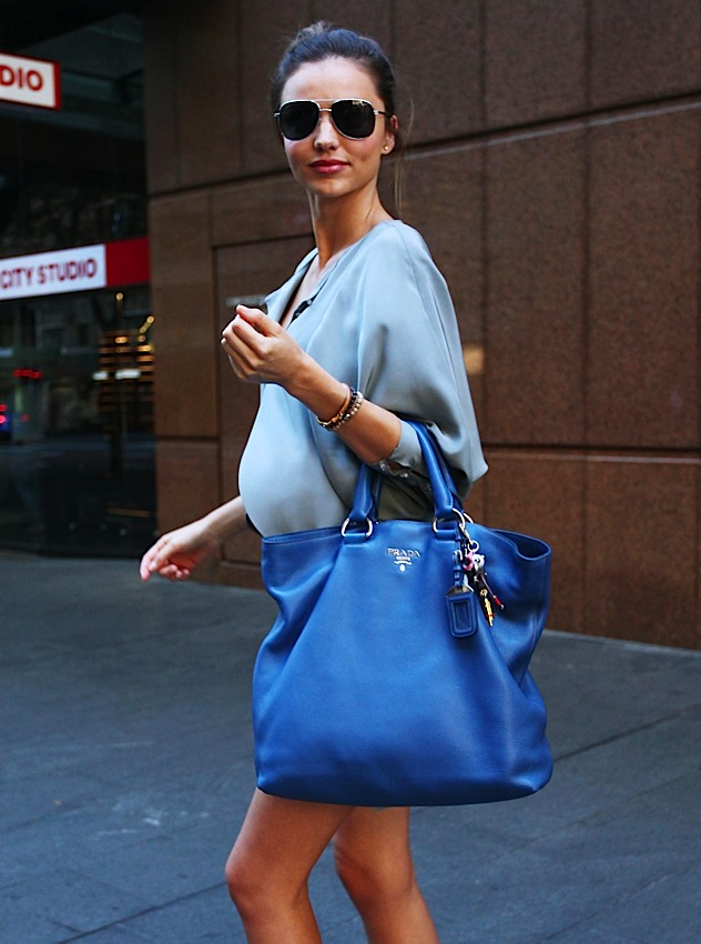 prada bags discounted - The Many Bags of Miranda Kerr - PurseBlog