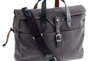 Man Bag Monday: The J.Crew Abingdon Line
