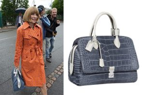 Anna Wintour carried a $33,000 Louis Vuitton bag to Wimbledon