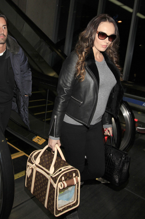 Celebrities and Louis Vuitton Luggage 10
