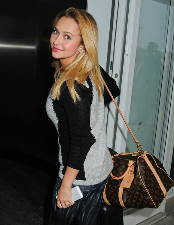 Celebrities and Louis Vuitton Luggage 14