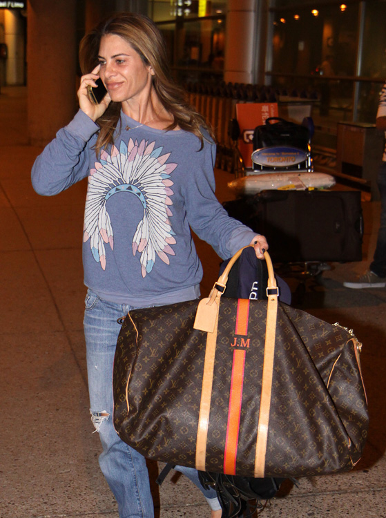 Celebrities and Louis Vuitton Luggage 15