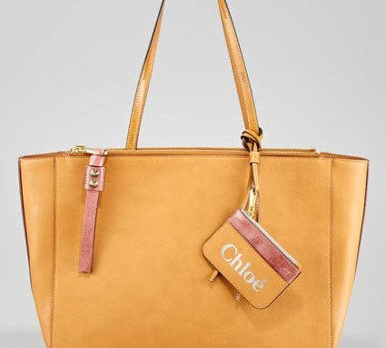 "Say what? Chloe's charging a grand for a ""leather-look"" tote?"
