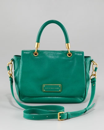 daaca8ccbb58 MARC by Marc Jacobs Too Hot to Handle Small Satchel green - PurseBlog