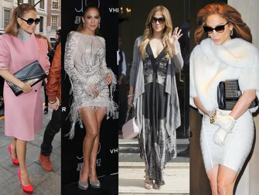 The Many Bags of Jennifer Lopez