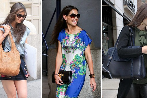 The Many Bags of Katie Holmes