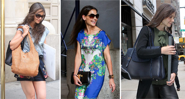 The Many Bags Of Katie Holmes Purseblog