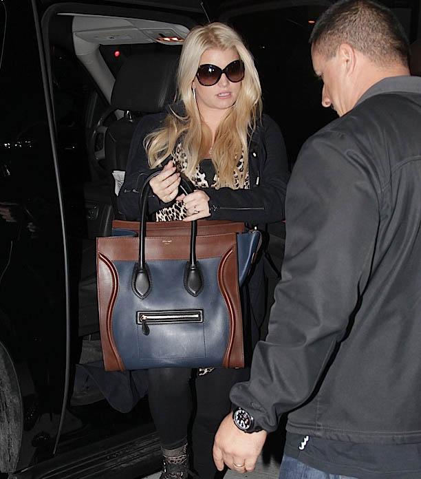 Celebrities and their Celine Luggage Totes  A Retrospective - PurseBlog 17e01aa08ef7a