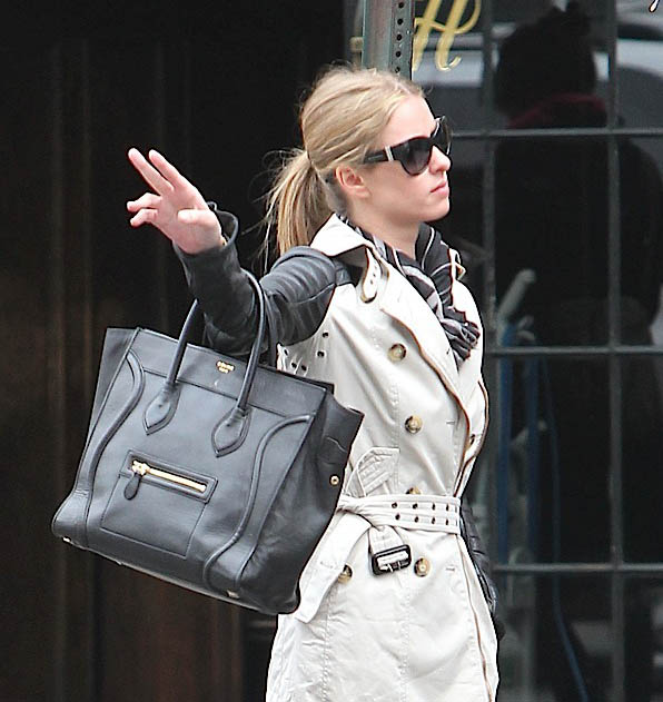 celine hand bags - Celebrities and their Celine Luggage Totes: A Retrospective ...