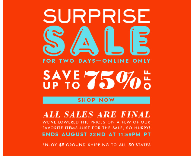Kate Spade Sample Sale