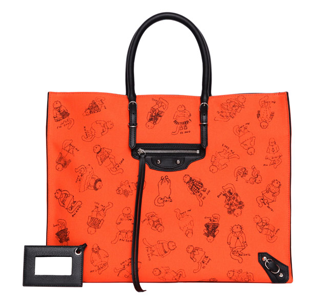 Balenciaga Grace Coddington Pumpkin Bags