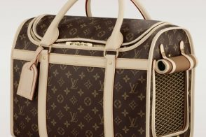 The Louis Vuitton Dog Carrier is for chic owners and their pets