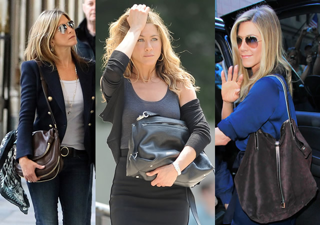 The Many Bags of Jennifer Aniston
