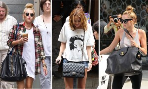 The Many Bags of Miley Cyrus