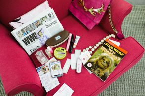 What's In Her Bag: Lucy Sykes-Rellie of Rent The Runway