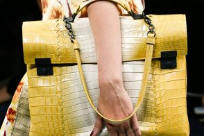 Fashion Week Handbags: Bottega Veneta Spring 2013