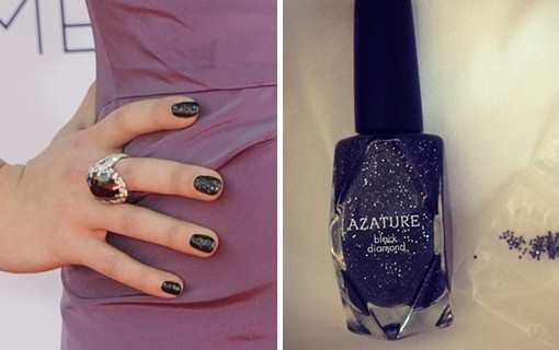 Kelly Osbourne gets a $250k Black Diamond manicure
