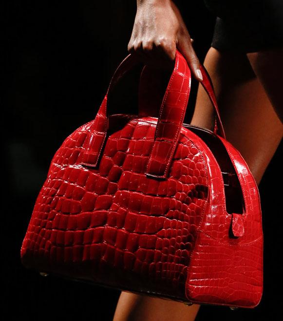 Fashion Week Handbags  Prada Spring 2013 - PurseBlog 51719209bb