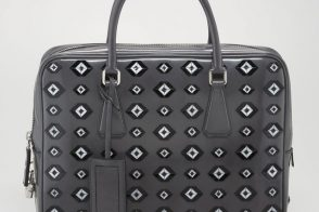 Man Bag Monday: Prada Spazzolato Briefcase