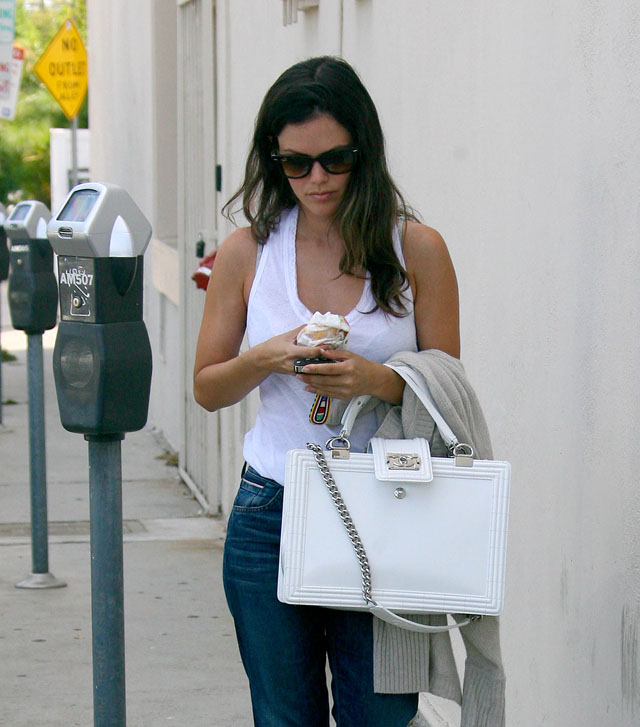 The Many Bags of Rachel Bilson - PurseBlog : quilted boy tote chanel - Adamdwight.com