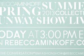 Watch Rebecca Minkoff's Fashion Show Live – here!