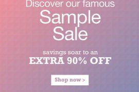 Shop the yoox.com Sample Sale!