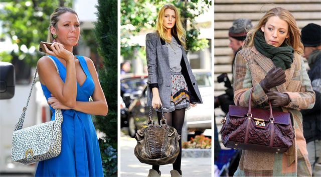 The Many Bags of Blake Lively