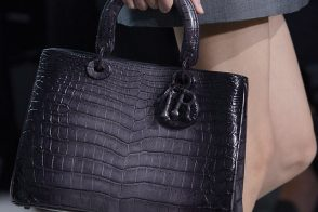Fashion Week Handbags: Christian Dior Spring 2012