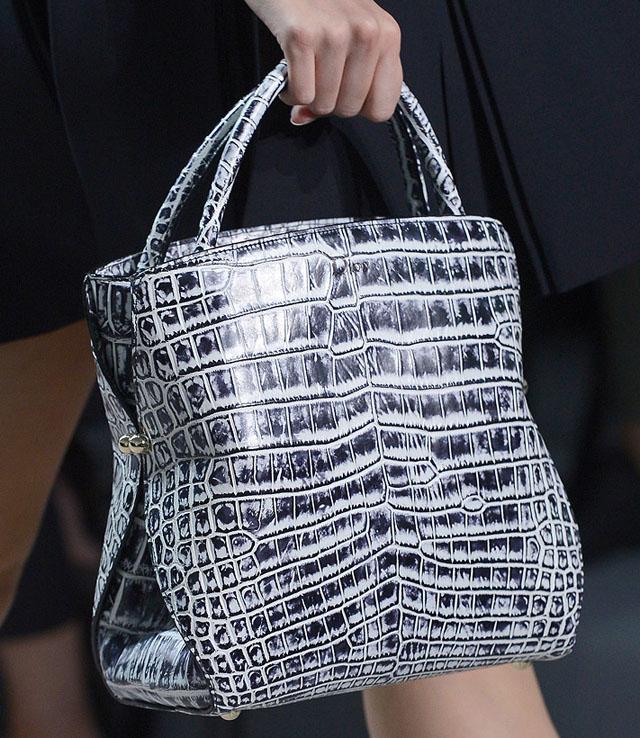 Fashion Week Handbags  Christian Dior Spring 2012 - PurseBlog 1bcde6d030