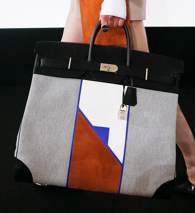 fashion week handbags hermes spring 2013 purseblog