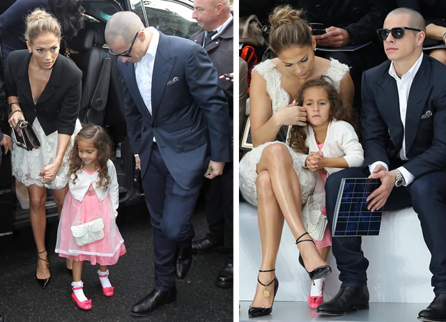 Jennifer Lopez and Emme Chanel Bags