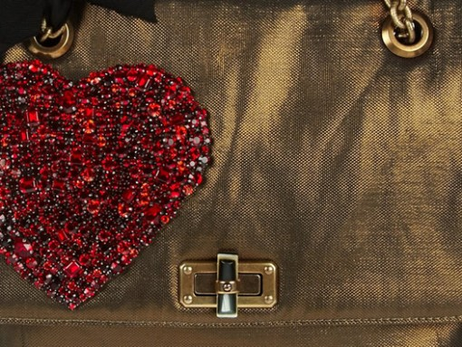 Fill in the Blank: The Lanvin Happy Medium Metallic Canvas Bag is…