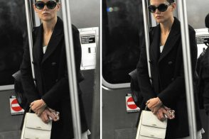 Name that Bag: Katie Holmes White Top-handle