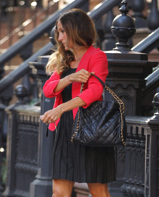 Chanel bag in sex and the city