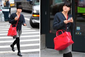 Selma Blair brightens up with Marc Jacobs