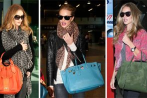 The Many Bags of Rosie Huntington-Whiteley