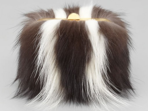 """Fill in the Blank: """"The Tom Ford Skunk Fur Minaudiere is…"""""""
