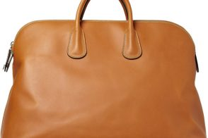 Man Bag Monday: The Valextra Leather Holdall