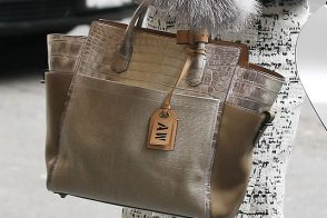 Anna Wintour's personalized Reed Krakoff bag is delicious