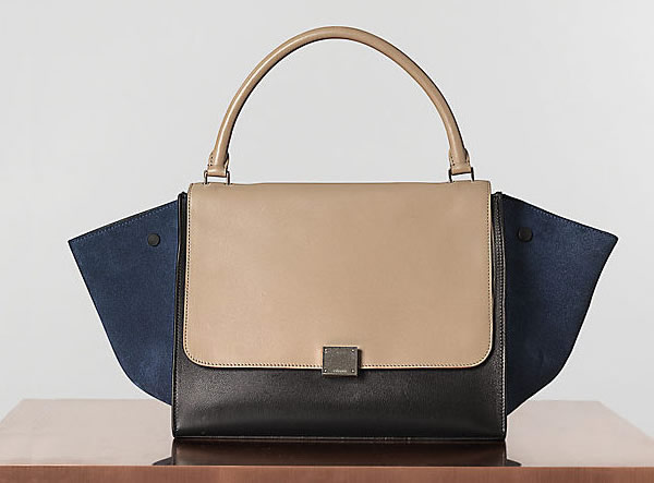 celine micro luggage tote black - All hail the Celine Trapeze Bag - PurseBlog