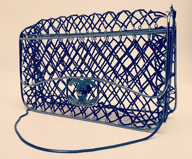 Chanel Cage Classic Flap Bag