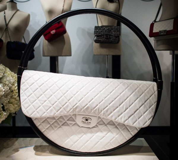 087bd0d950ba The full-size Chanel Hula Hoop Bag will be available for purchase after all  - PurseBlog