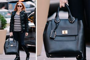 Name That Bag: What's Jessica Chastain carrying?