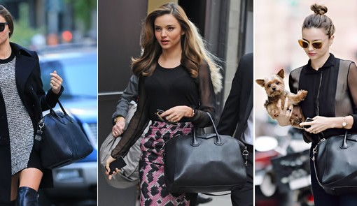 45573ad70ebd Just Can t Get Enough  Miranda Kerr and her Givenchy Antigona
