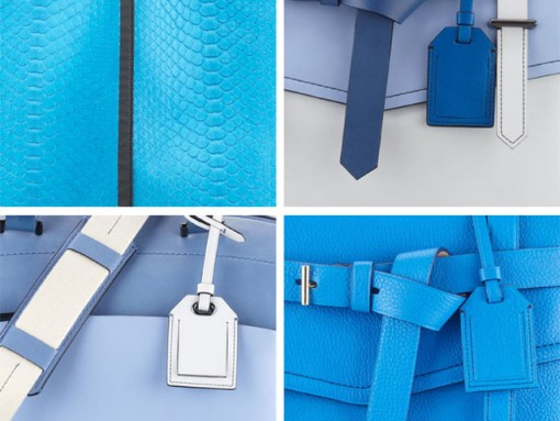 Reed Krakoff has the blues (in a good way)
